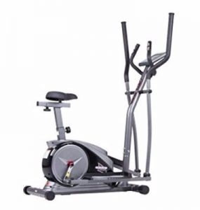 Body Champ 2-in- 1 Dark Gray Black Cardio Dual Trainer Review