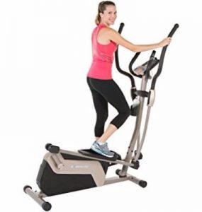 Exerpeutic 5000 Magnetic Elliptical Trainer with Double Transmission Drive with Bluetooth Review