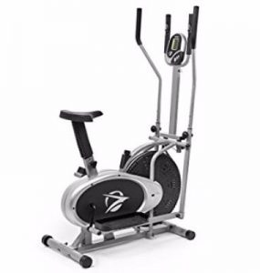 Plasma Fit Elliptical Machine Trainer 2 in 1 Exercise Bike Total Cardio Fitness Home Gym Review