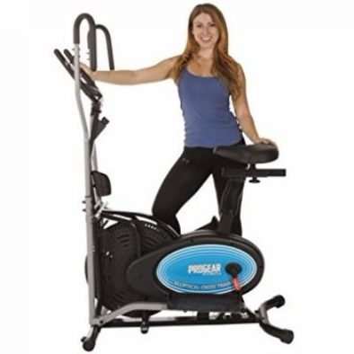 ProGear 400LS 2 Dual Trainer Elliptical & Exercise Bike with Pulse Sensor Review