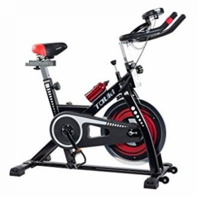 Tauki Indoor Upright Exercise Bike with LCD Monitor Cycling Bike Review