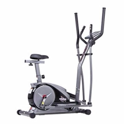 Body Champ 2 in 1 Cardio Dual Trainer Elliptical Workout and Upright Exercise Bike Review