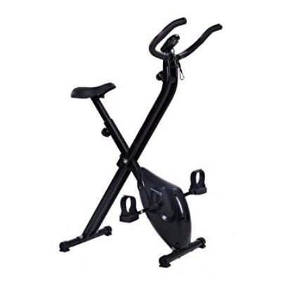 Confidence Fitness Folding Exercise Bike Stationary Upright X Bicycle Review