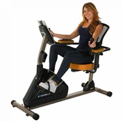 Exerpeutic 4000 Magnetic Recumbent Bike with MyCloudFitness App Review