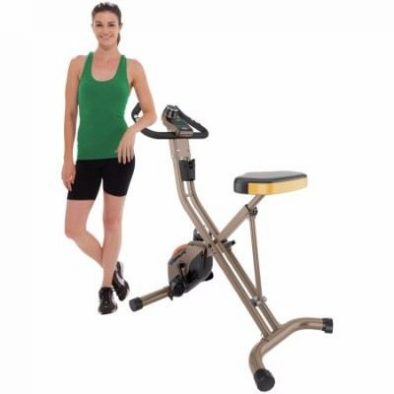 Exerpeutic 500 XLS Gold Foldable Upright Bike Review