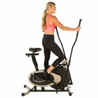 Exerpeutic Gold Elliptical and Exercise Bike Dual Trainer Review
