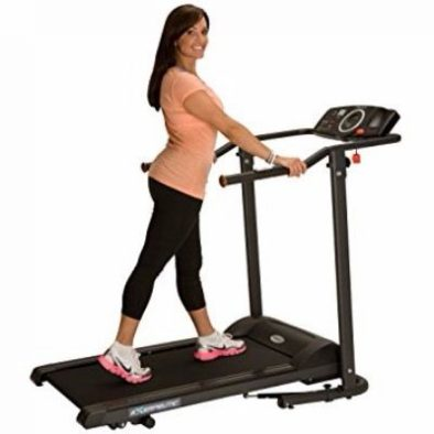 Exerpeutic TF1000 Ultra High Capacity Walk to Fitness Electric Treadmill Review