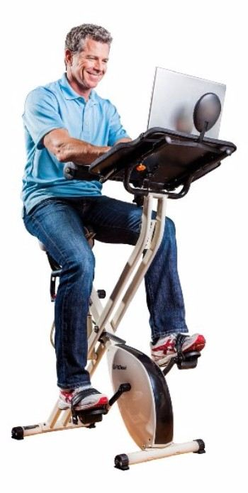 FitDesk 2.0 Desk Exercise Bike with Massage Bar Review