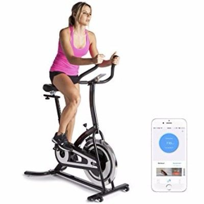 Fitbill Smart Exercise Bike Bluetooth Scale, Upright Indoor Spin with Fitness App Review