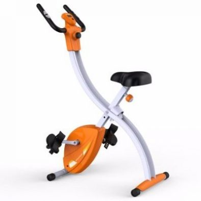Fitleader Indoor Exercise Bike Folding Compact Upright Bike Review