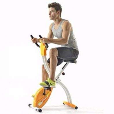 Fitleader Indoor Teenager Exercise Bike GYM Recumbent Compact & Stable Folding Cycling Review