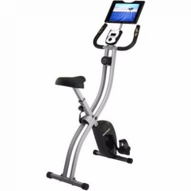 Innova Health and Fitness Upright Bike with iPad/Android Tablet Holder Review