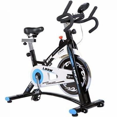 L Now Indoor Cycling Bike Smooth Belt Driven Review