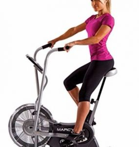 Marcy Exercise Upright Fan Bike with Transport Wheels AIR-1 Review
