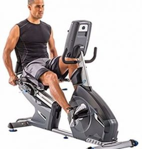 Nautilus 618 Recumbent Exercise Bike Review