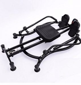 Soozier Adjustable Fitness Home Workout Rower Glider Machine Review