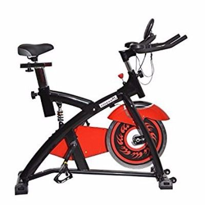 Soozier Pro Upright Stationary Exercise Cycling Bike with LCD Monitor Review