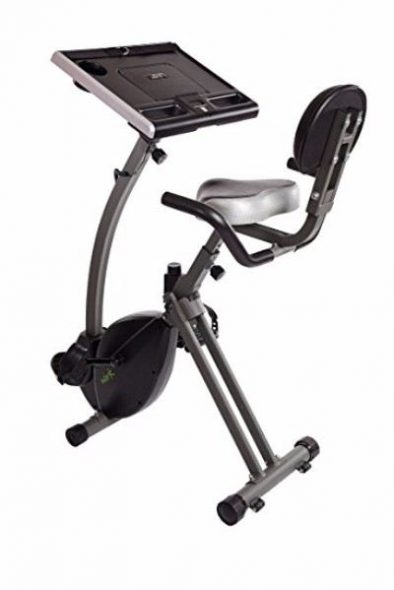 Stamina Wirk Ride Exercise Bike Workstation and Standing Desk Review