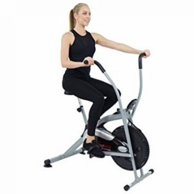 Sunny Health & Fitness SF-B2621 Cross Training Fan Upright Exercise Bike with Arm Exercisers Review