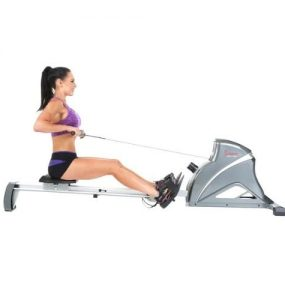 Sunny Health & Fitness SF-RW5508 Ultra Tension Magnetic Pro Rowing Machine Rower with LCD Monitor Review