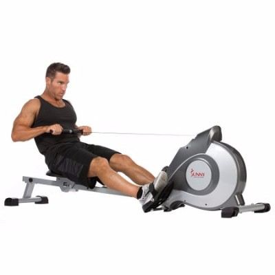 Sunny Health & Fitness SF-RW5515 Magnetic Rowing Machine Rower w/ LCD Monitor Review