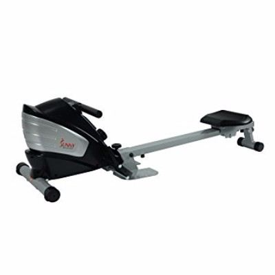 Sunny Health & Fitness SF-RW5622 Dual Function Magnetic Rowing Machine Rower with LCD Monitor Review