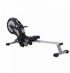 Sunny Health & Fitness SF-RW5623 Air Magnetic Rowing Machine Rower with LCD Monitor Review