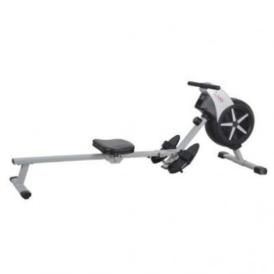 Sunny Health & Fitness SF-RW5633 Air Rowing Machine Rower with LCD Monitor Review
