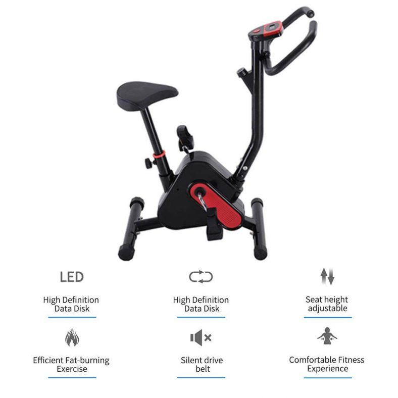 Sihand Ultra-Quiet Exercise Upright Bike