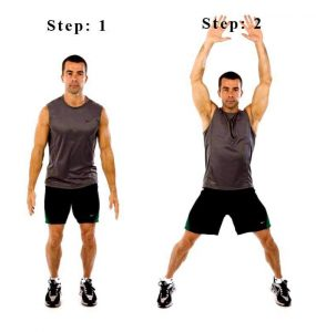 how many calories do 100 jumping jacks burn